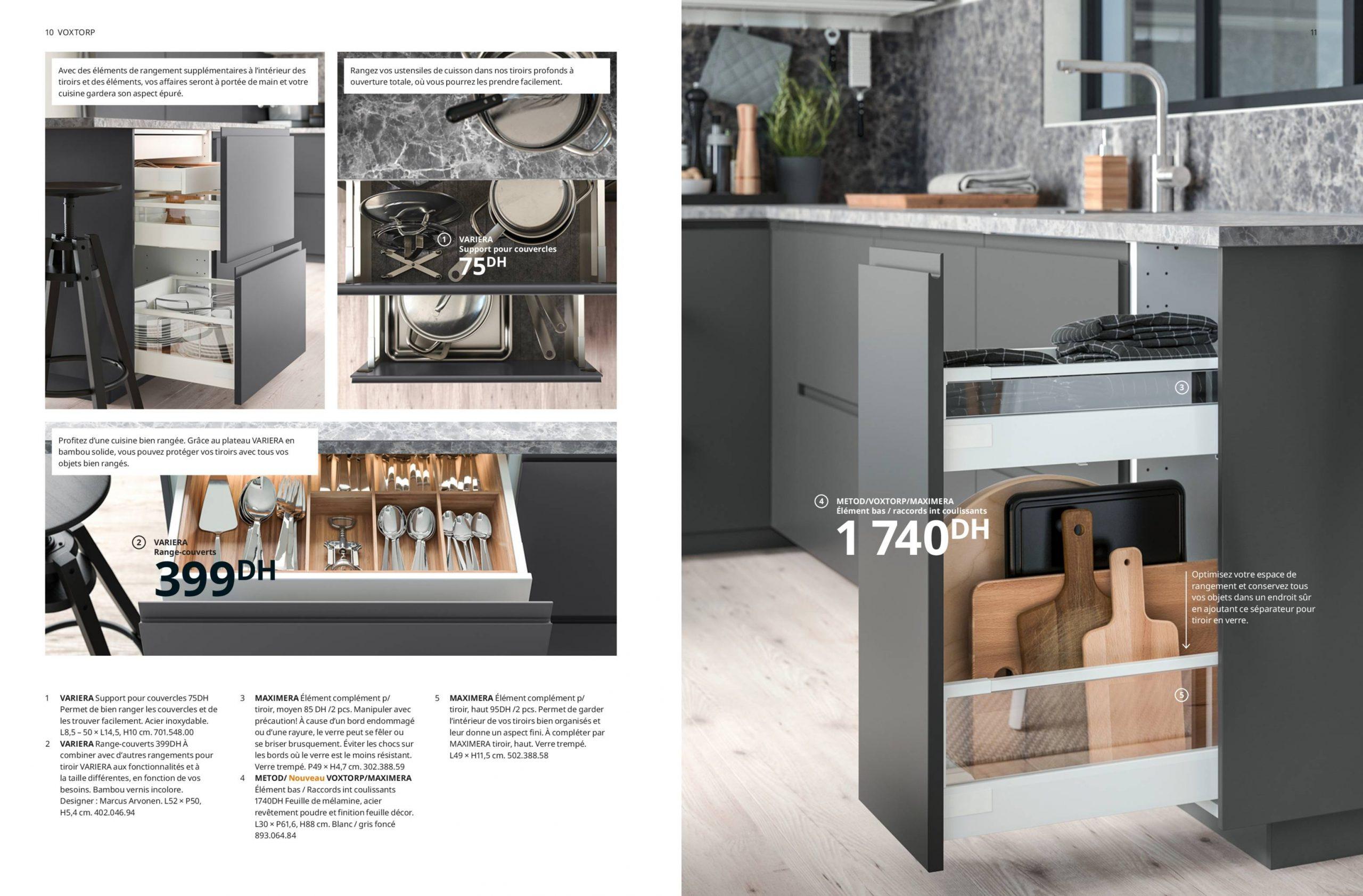 nouveautés ikea catalogue brochure cuisines 2020
